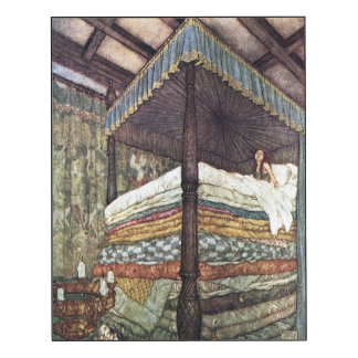 La bella arte real de princesa Edmund Dulac Impresión En Madera