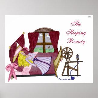 La bella durmiente póster