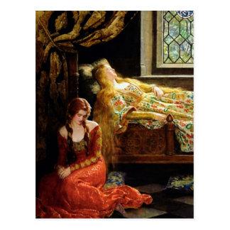 La bella durmiente tarjetas postales