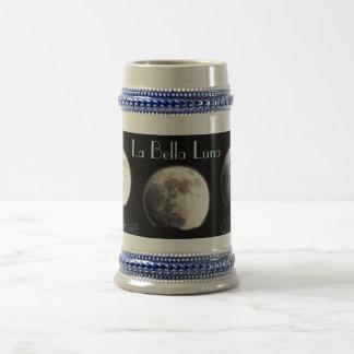 La Bella Luna stein Mugs