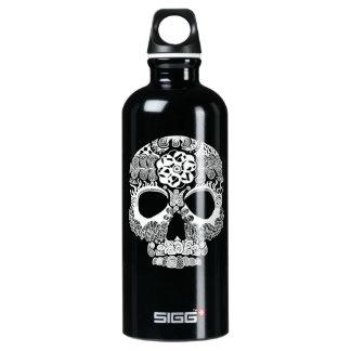 La Bella Muerte Aluminum Water Bottle