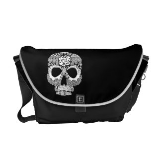 La Bella Muerte Dark Messenger Bag