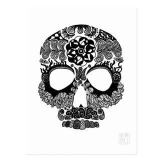 La Bella Muerte Postcard