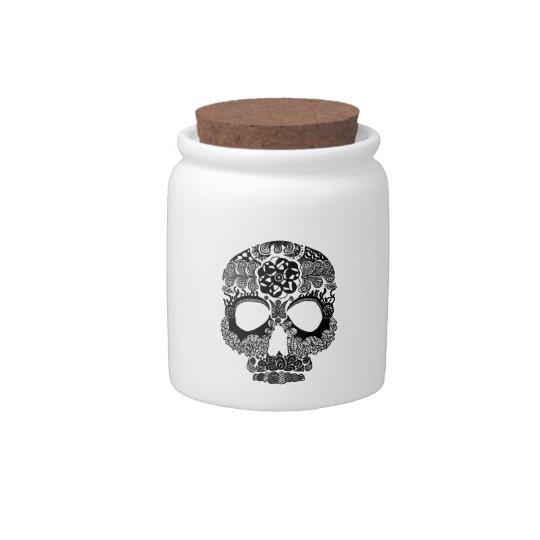 La Bella Muerte - Skull Jar Candy Dish
