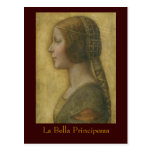 La Bella Principessa Postcard