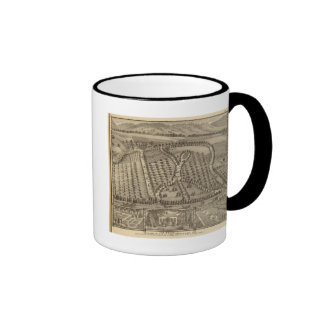 La Belle, country place of Thos Hornbrook Ringer Coffee Mug