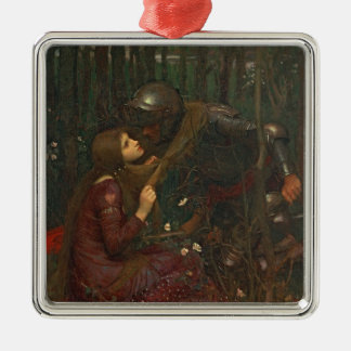 La Belle Dame Sans Merci, 1893 (oil on canvas) Metal Ornament