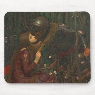La Belle Dame Sans Merci, 1893 (oil on canvas) Mouse Pad