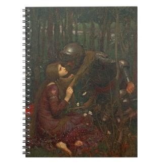La Belle Dame Sans Merci, 1893 (oil on canvas) Notebook