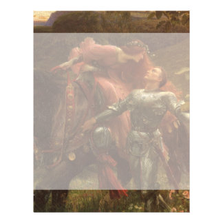 La Belle Dame sans Merci by Sir Frank Dicksee Flyer