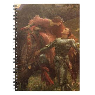 La Belle Dame sans Merci by Sir Frank Dicksee Notebook