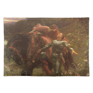 La Belle Dame sans Merci by Sir Frank Dicksee Placemat