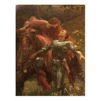 La Belle Dame sans Merci by Sir Frank Dicksee Postcard