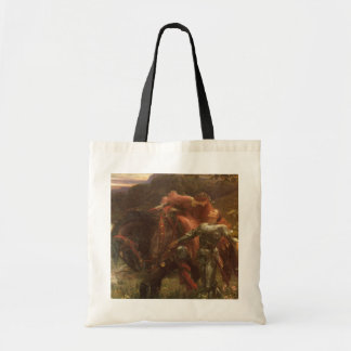La Belle Dame sans Merci by Sir Frank Dicksee Tote Bag