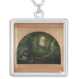 La Belle Dame Sans Merci Silver Plated Necklace