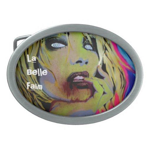 'La Belle Faim' Belt Buckle