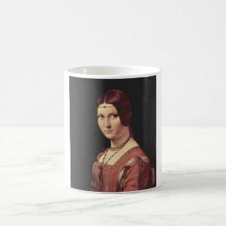 La belle ferronnière coffee mug