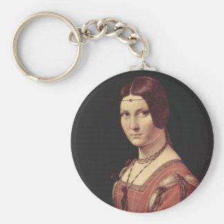 La belle ferronnière keychain