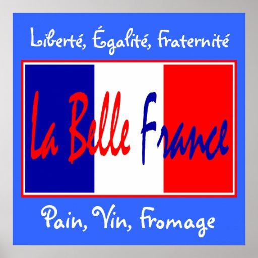 La Belle France - for Bistro, Wine Bar, Kitchen! Poster