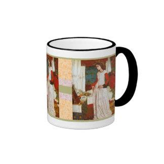 La Belle Iseult William Morris Coffee Mugs