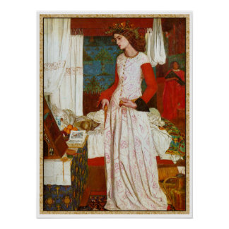 La Belle Iseult  ~  William Morris Poster
