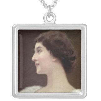 La Belle Otero Silver Plated Necklace