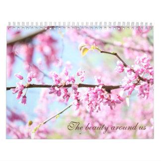 La belleza alrededor de nosotros calendarios de pared
