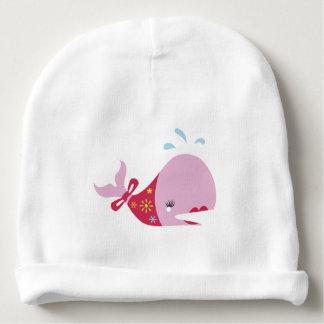 La belleza Beneath_Pinkie el Whale_adorable Gorrito Para Bebe