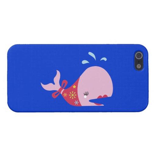 La belleza Beneath_Pinkie la ballena iPhone 5 Fundas