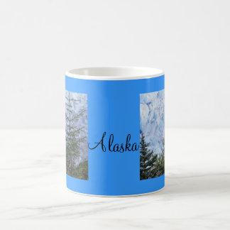 La belleza de Alaska Taza