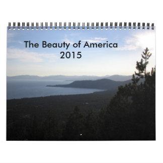 La belleza de América 2015 Calendario