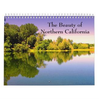 La belleza de California septentrional 2014 Calendarios