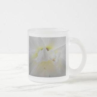 La belleza de flores taza cristal mate