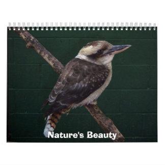 La belleza de la naturaleza calendarios