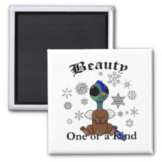 La belleza de Squite es una de una clase con los Imán Cuadrado