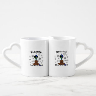 La belleza de Squite es una de una clase con los Set De Tazas De Café