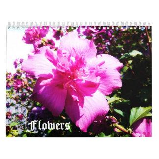 LA BELLEZA del calendario de las FLORES