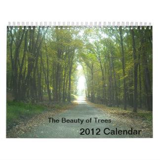La belleza del calendario de los árboles 2012