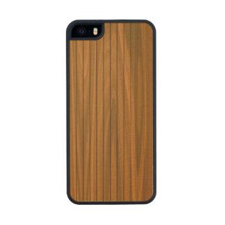 La belleza del caso de parachoques del iPhone 5 de Funda De Arce Carved® Para iPhone 5