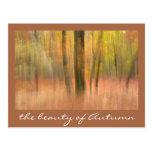 la belleza del otoño postales