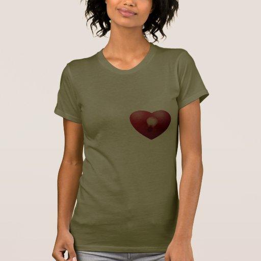 La belleza es una luz en el corazón camiseta