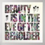 La belleza está en el ojo del espectador
