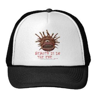 La belleza está en el ojo… gorra