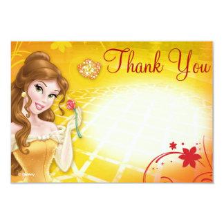 """La belleza le agradece las tarjetas invitación 3.5"""" x 5"""""""