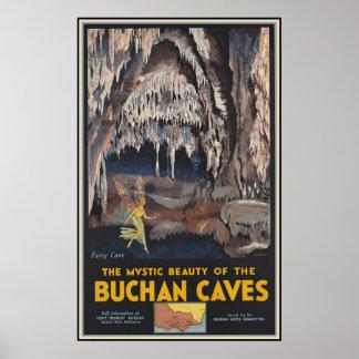 La belleza mística del Buchan Póster