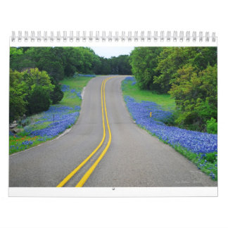 La belleza natural 2011 de Tejas Calendario De Pared