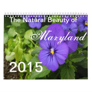 La belleza natural del calendario 2015 de Maryland