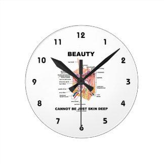 La belleza no puede ser apenas epidérmica (las reloj redondo mediano