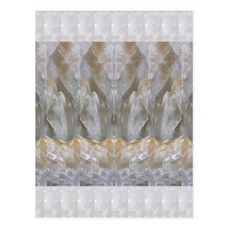 La bendición DA el ARTE de piedra cristalino Tarjeta Postal
