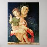 La bendición de la Virgen y del niño, 1460-70 Poster